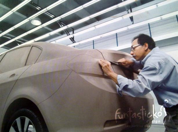clay-model-sedan