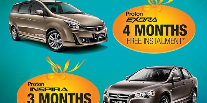 Proton 'Take Now Pay Later' promotion