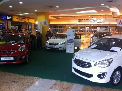 Car Exhibition at Plaza Alam Sentral, Shah Alam
