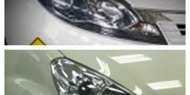 Spy shots: Upcoming Proton Global Small Car P3-20A Headlamp Leaked