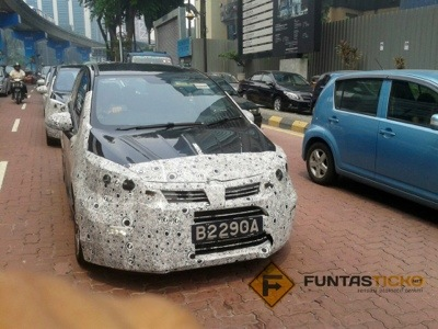 Spy shots: Proton GSC Spotted in KL Down Town