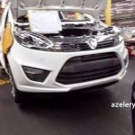 Proton Compact Car Mass Production Unit and New Engine Image Leaked!