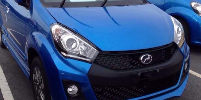Gambar Perodua Myvi Facelift Baru!